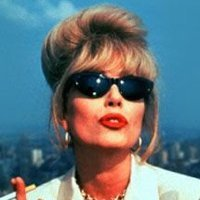 Patsy played by Joanna Lumley