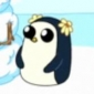Flower Girl Penguin Adventure Time with Finn and Jake