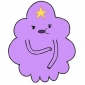 Lumpy Space Princess played by Pendleton Ward
