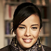 Liz Bonnin played by Liz Bonnin