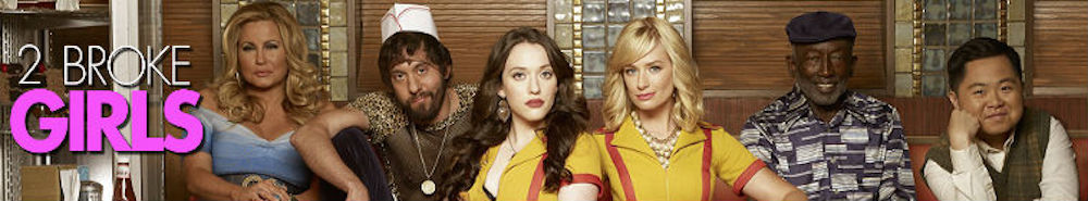 2 Broke Girls TV Show Banner
