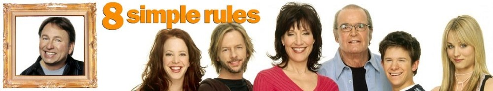 8 Simple Rules TV Show Banner
