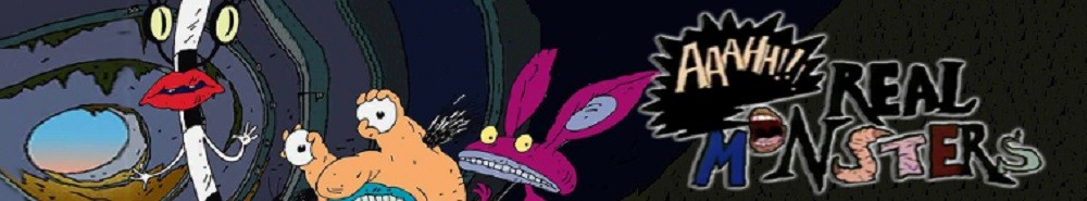 Aaahh!!! Real Monsters TV Show Banner