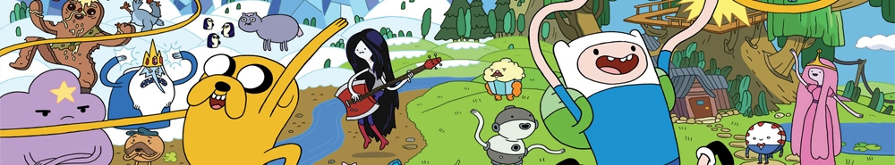 Adventure Time with Finn and Jake TV Show Banner