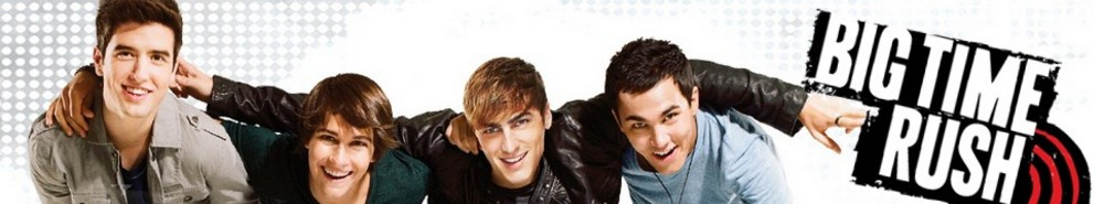 Big Time Rush TV Show Banner