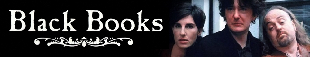 Black Books (UK) TV Show Banner