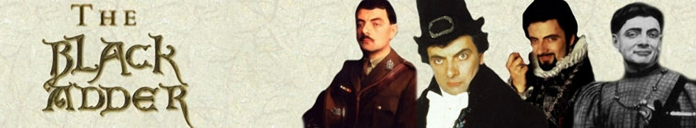 Black Adder (UK) TV Show Banner