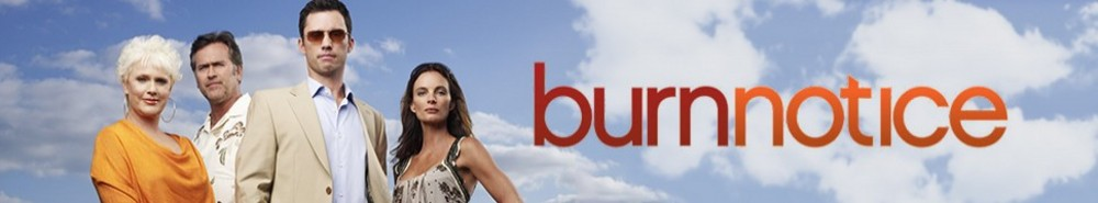 Burn Notice TV Show Banner