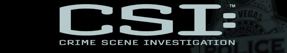 CSI: Crime Scene Investigation TV Show Banner