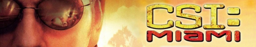 CSI: Miami TV Show Banner