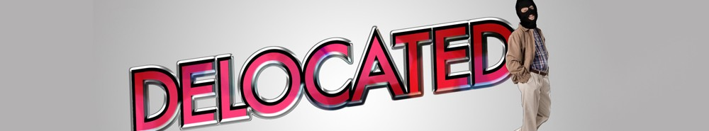 Delocated TV Show Banner