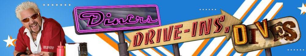 Diners, Drive-Ins and Dives TV Show Banner