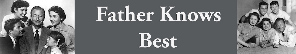 Father Knows Best TV Show Banner