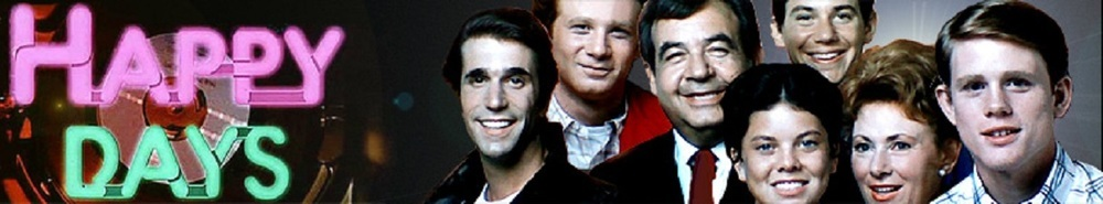 Happy Days TV Show Banner