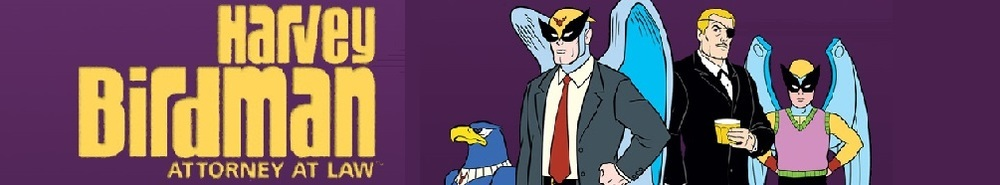 Harvey Birdman, Attorney at Law TV Show Banner