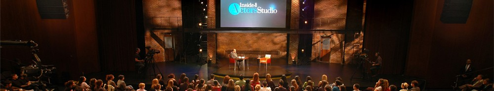 Inside the Actors Studio TV Show Banner