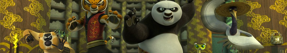 Kung Fu Panda: Legends of Awesomeness TV Show Banner