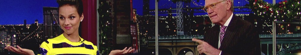 Late Night With David Letterman TV Show Banner