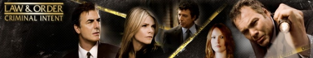 Law & Order: Criminal Intent TV Show Banner