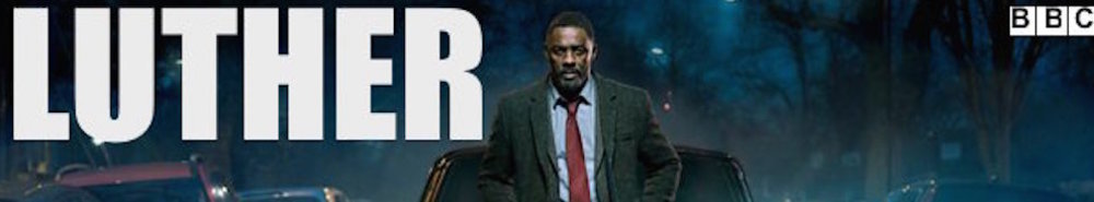 Luther (UK) TV Show Banner