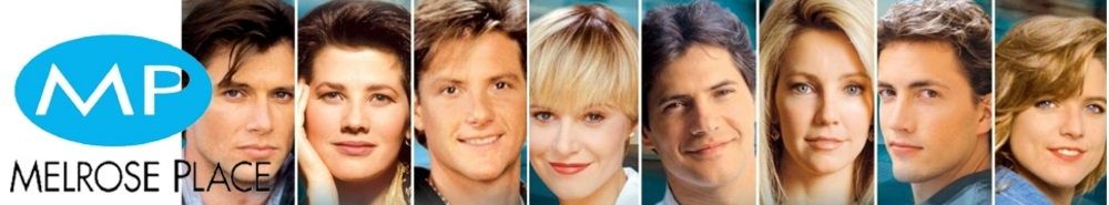 Melrose Place TV Show Banner