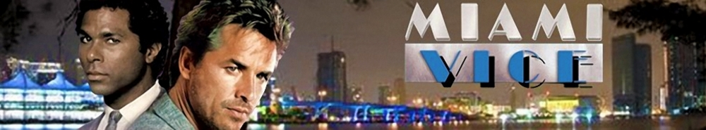 Miami Vice TV Show Banner