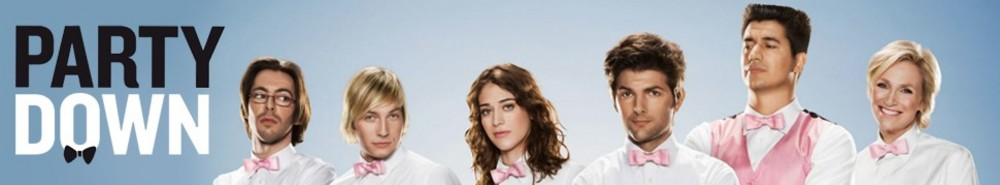 Party Down TV Show Banner
