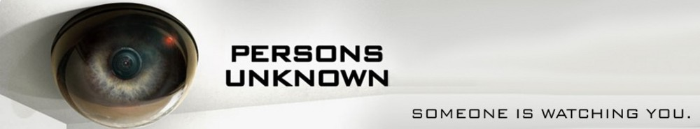 Persons Unknown TV Show Banner
