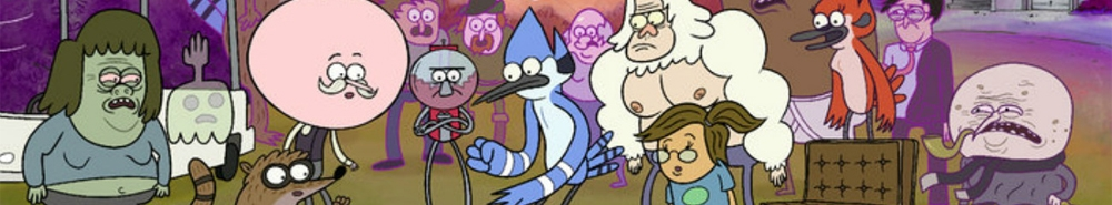 Regular Show TV Show Banner