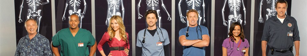 Scrubs TV Show Banner