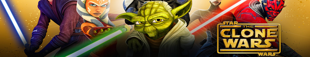 Star Wars: The Clone Wars TV Show Banner