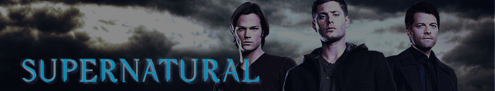Supernatural TV Show Banner