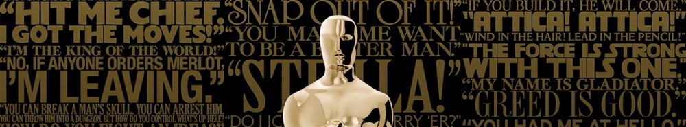 The Academy Awards TV Show Banner