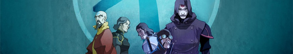 The Legend of Korra TV Show Banner