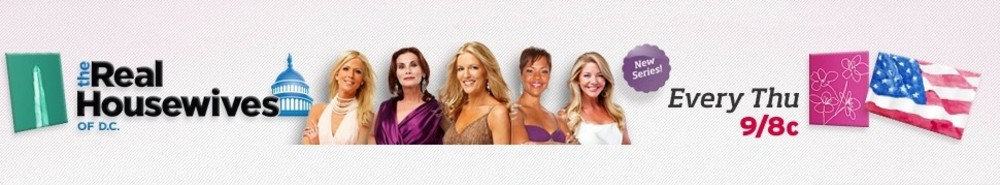 The Real Housewives of Washington D.C. TV Show Banner
