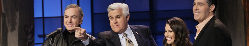 The Tonight Show with Jay Leno TV Show Banner