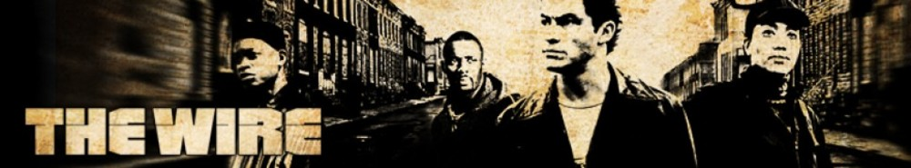 The Wire TV Show Banner
