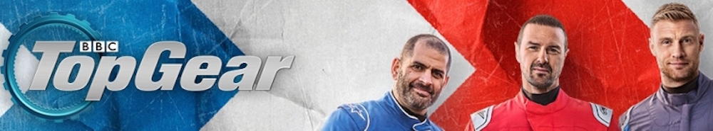 Top Gear (UK) TV Show Banner