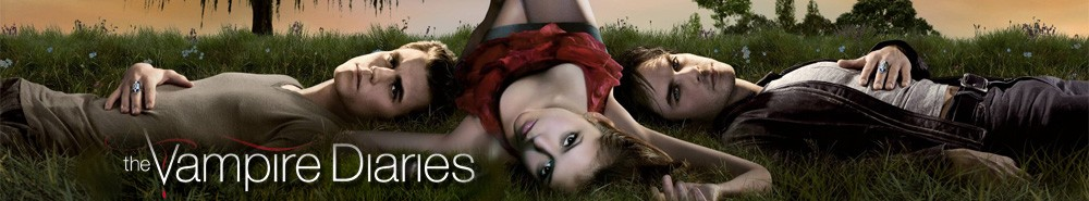 The Vampire Diaries TV Show Banner