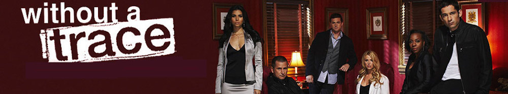 Without a Trace TV Show Banner