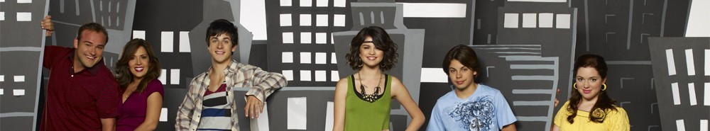 Wizards of Waverly Place TV Show Banner