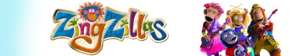 ZingZillas (UK) TV Show Banner