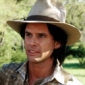Almanzo Wilder played by Walton Goggins