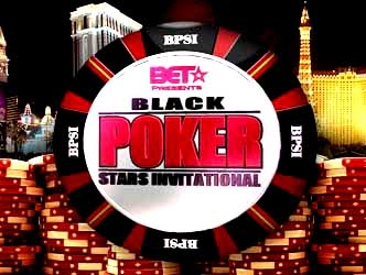 Black Poker Stars Invitational tv show photo