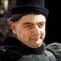 Edmund played by Rowan Atkinson