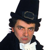 Edmund the Butler - Season 3 played by Rowan Atkinson