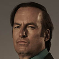 saul goodmanplayed by Bob Odenkirk