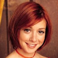 Willow Rosenberg played by Alyson Hannigan
