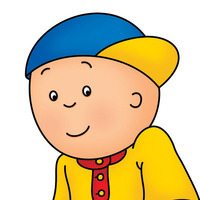 Caillou played by Annie Bovaird