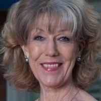 Audrey Roberts played by Sue Nicholls